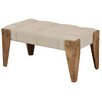 StyleCraft Home Driftwood Upholstered Bedroom Bench
