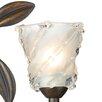 Dar Lighting Prunella Glass Bell Wall Sconce Shade