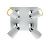 Dar Lighting Deckenstrahler 4-flammig Loft