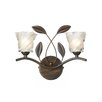 Dar Lighting Wandleuchte 2-flammig Prunella