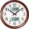"""Rhythm U.S.A Inc 16"""" Estado Wall Clock"""