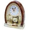 Rhythm U.S.A Inc Joyful Crystal Bells Table Clock