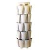 5 Tier Plastic Vertical Planter - Color: Stunning Stone - GreenStalk Planters