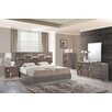 Global Furniture USA Platform Customizable Bedroom Set