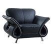 Global Furniture USA Clark Leather Armchair