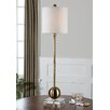 """Uttermost Laton 35"""" H Table Lamp with Drum Shade"""