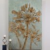 Uttermost Golden Leaves by Grace Feyock Original Painting on Canvas