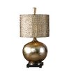 """Uttermost Julian 31"""" H Table Lamp with Drum Shade"""