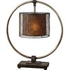"Uttermost Dalou 28"" H Table Lamp with Drum Shade"