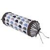 Bacati Elephants Neck Roll Cotton Bolster Pillow