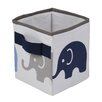 Bacati Elephants Storage Box