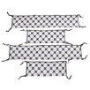 Bacati Dots/Pin Stripes 2 Piece Bumper Pad Set