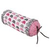 Bacati Elephants Neck Roll Cotton Bolster Pillow