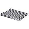 Bacati Pin Stripes Fitted Crib Sheet