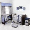 Bacati Elephants 10 Piece Crib Bedding Set