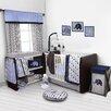 Bacati Elephants 9 Piece Crib Bedding Set