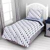 Bacati Elephants 4 Piece Toddler Bedding Set