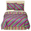 Bacati Dots and Stripes Spice Bedding Collection