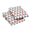 Bacati Playful Fox Fitted Crib Sheets (Set of 2)