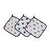 Bacati Little Sailor Muslin Wash Cloth (Set of 3)