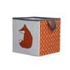 Bacati Playful Fox Toy Box