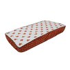 Bacati Playful Fox Quilted Changing Pad Cover