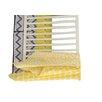 Bacati Ikat Dots/Giraffe 4 Piece Crib Bedding Set
