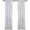 Bacati Large Dots Single Curtain Panel