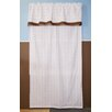 Bacati Baby and Me Cotton Rod Pocket Single Curtain Panel
