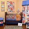 Bacati Transportation 10 Piece Crib Bedding Set