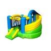 Island Hopper Jump-A-Lot Curved Double Slide Bounce House