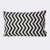 ferm LIVING Zig Zag Cotton Lumbar Pillow