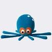ferm LIVING Octopus Cotton Novelty Pillow