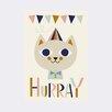 ferm LIVING 'Mr. Cat' By Ingela P Arrhenius Graphic Art