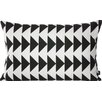 ferm LIVING Arrow Cotton Lumbar Pillow