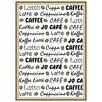 Kracht Geschirrtuch Kaffee Latté aus Baumwolle