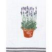 Kracht Piquettuch Lavendel aus Baumwolle