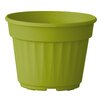 Nitsan Plastic Pot Planter - Color: Lime Green - ALMI Planters