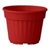 Nitsan Plastic Pot Planter - Color: Red - ALMI Planters