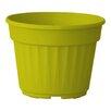 Nitsan Plastic Pot Planter - Color: Yellow - ALMI Planters