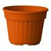 Nitsan Plastic Pot Planter - Color: Orange - ALMI Planters