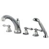 Elements of Design Roman Tub Faucet and Diverter Hand Shower