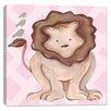 Doodlefish Jungle Leah Lion Canvas Art