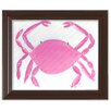 Doodlefish Sea Creatures Caitlin the Crab Framed Art