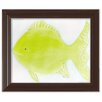 Doodlefish Sea Creatures Flicka the Fish Framed Art