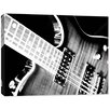 Doodlefish Photography Electric Guitar Wrapped Photographic Print on Canvas