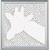 Doodlefish Giraffe Silhouette Framed Art