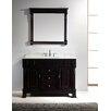 "Virtu Huntshire 47"" Single Bathroom Vanity Set with Mirror"