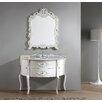 """Virtu Caroline Avenue 47"""" Single Bathroom Vanity Set with Mirror"""