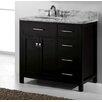 """Virtu Caroline Parkway 36"""" Bathroom Vanity Cabinet"""